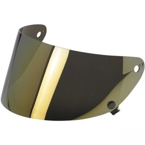 Gringo S Flat Shield - Gold Mirror