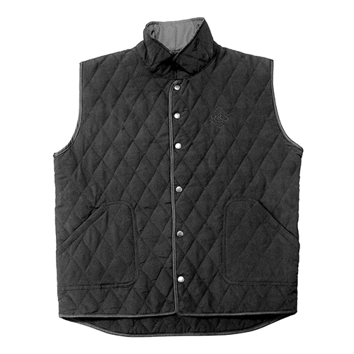 Ride & Sons Thermal Quilted Vest - Black