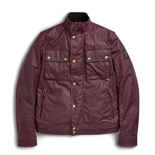 BELSTAFF RACEMASTER WAX JACKET - CARDINAL RED