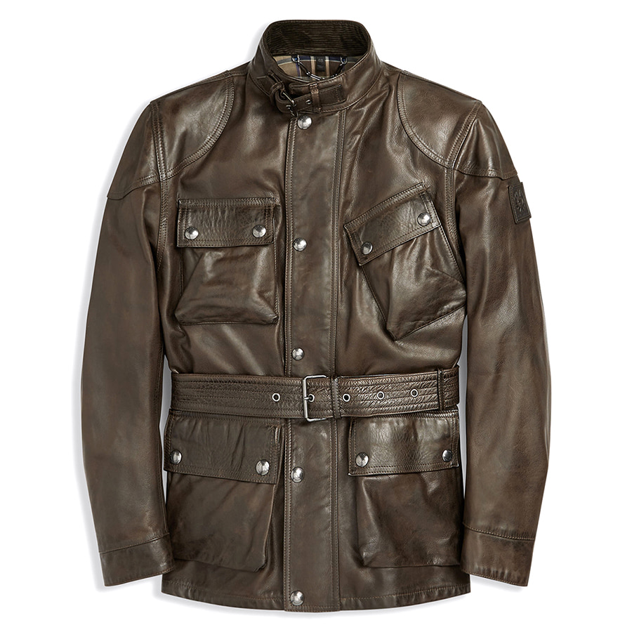 2018F/W BELSTAFF PANTHER JACKET - DARK BROWN