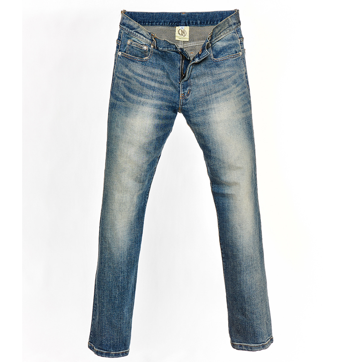 "NIVENS - HUBRIS X NIVENS COLLABORATION ""STONE WASH JEANS"""
