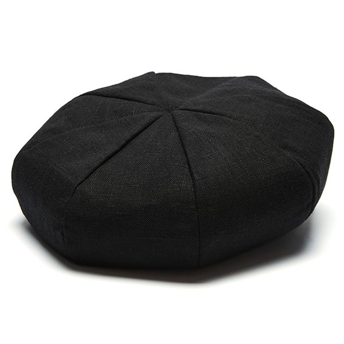[밀리어네어햇 베레모] Millionairehats - (Linen) octangle beret - BLACK