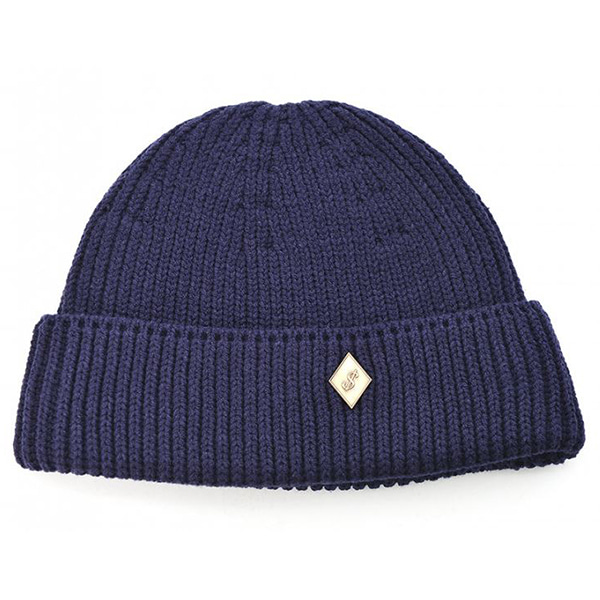 Millionairehats - (cotton) watch cap  [NAVY]