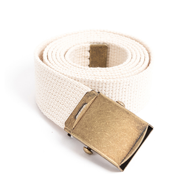 [와일드브릭스 웨빙벨트] WILDBRICKS - MILITARY WEBBING BELT (ivory)