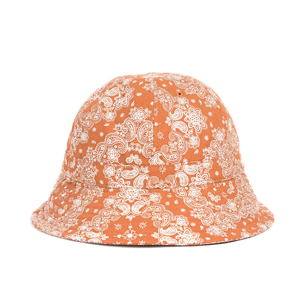 WILDBRICKS - PAISLEY BUCKET HAT (orange)