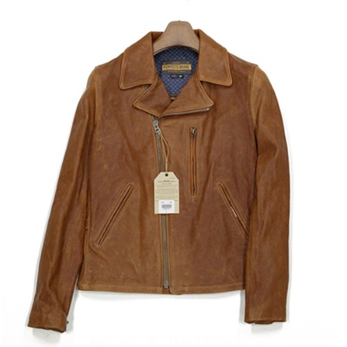 [쇼트뉴욕 가죽자켓] SCHOTT N.Y.C - P264 LEATHER JACKET / BROWN