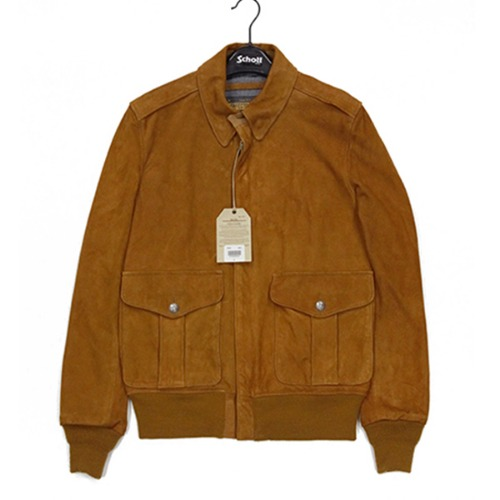 [쇼트뉴욕 가죽자켓] SCHOTT N.Y.C - P262 LEATHER JACKET / SAND