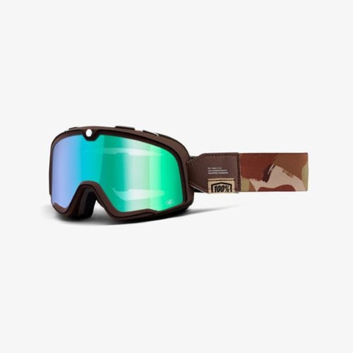 [100% 바스토우 라이딩 고글] 100% Barstow Goggle - Pendleton (Flash Green Lens)