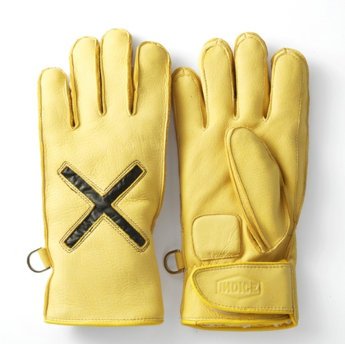 [인다이스 방한 글러브] INDICE - X WINTER GLOVES  / YELLOW