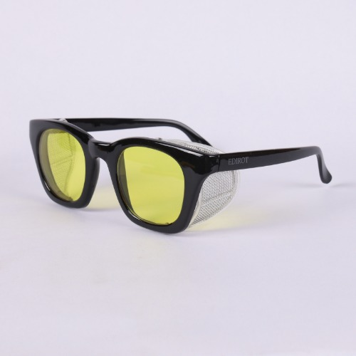 [에딜롯 스탠다드 윙글라스 방풍고글]EDIROT - 001 WING GLASSES STANDARD GLASSES BLACK/YELLOW