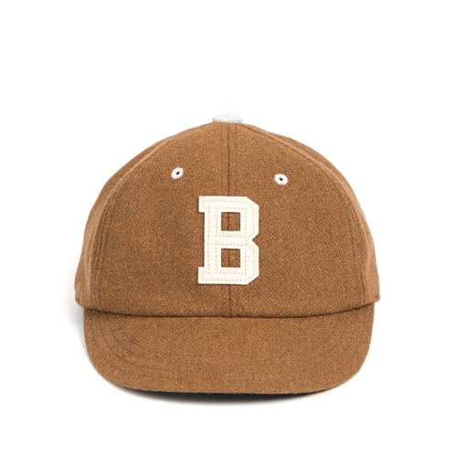 [와일드브릭스]MELTON WOOL BASEBALL CAP (beige)
