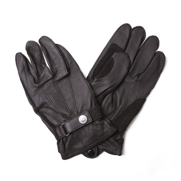 [모토필드 글러브] MOTOFIELD - DEER SKIN SHORT GLOVE BROWN