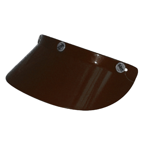 DAMMTRAX LONG SUN VISOR - BROWN