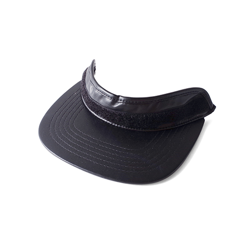 RETROVER SNAP BACK (LEATHER BLACK)