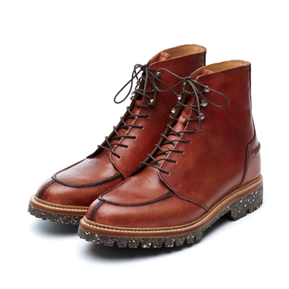 [더클랙슨 라이더 패션 부츠] THE KLAXON - PALLAS BOOTS VINTAGE BROWN
