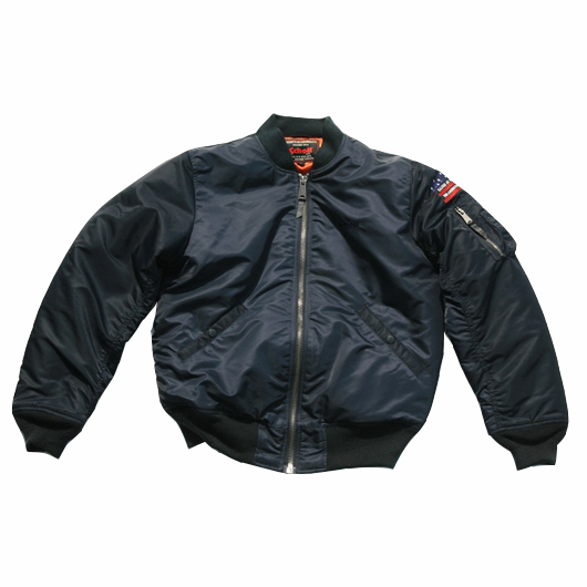 [15% SALE] [쇼트뉴욕 항공점퍼] Schott N.Y.C. - MA-1 Patriot Jacket - Navy