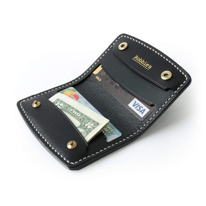 Robbie's classic H. Card Holder Black