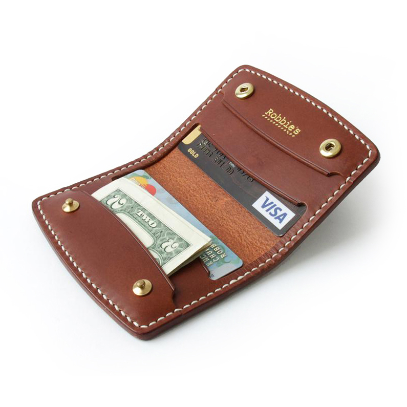 Robbie's classic H. Card Holder Brown