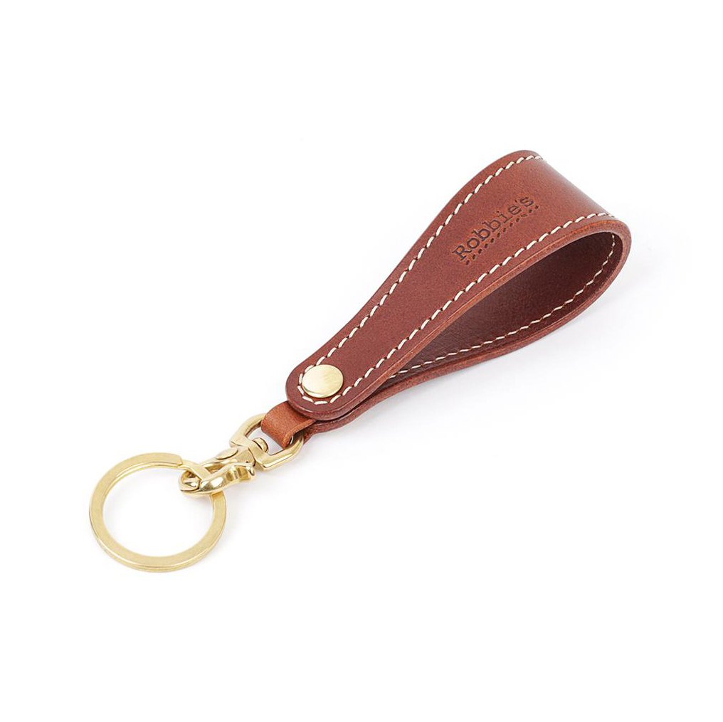 Robbie's R. Key ring Brown