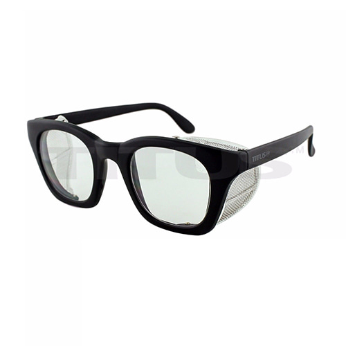 TITUS WIND SHIELD GLASSES MATT BLACK / CLEAR