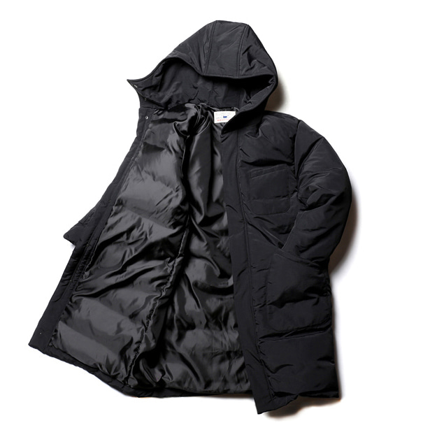 "Union Outfitters ""Enjoy"" Duck Down Long Parka"