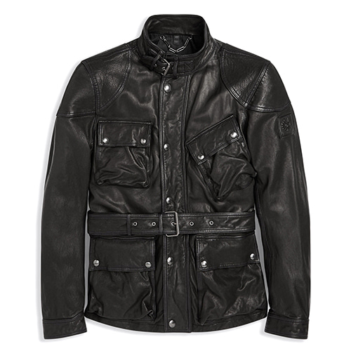 BELSTAFF SPEEDMASTER JACKET - BLACK