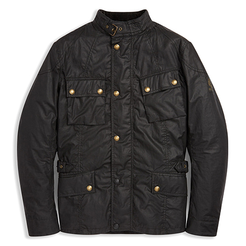 BELSTAFF CROSBY MOTORCYCLE JACKET - BLACK
