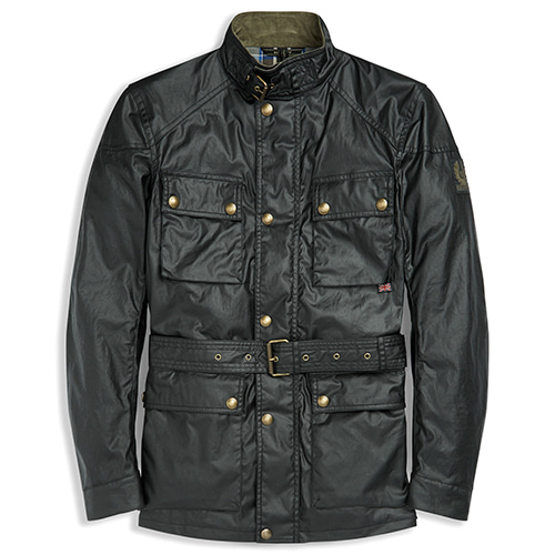 2018F/W BELSTAFF ROADMASTER JACKET - BLACK