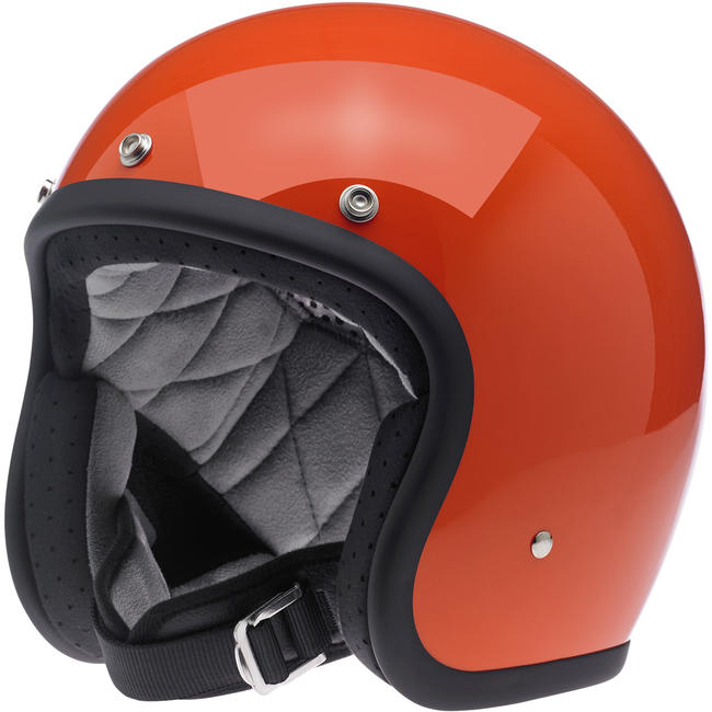 Biltwell BONANZA HELMET - HAZARD ORANGE
