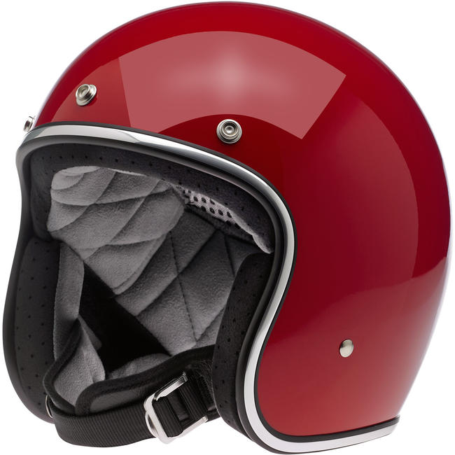 Biltwell BONANZA HELMET - GLOSS BLOOD RED