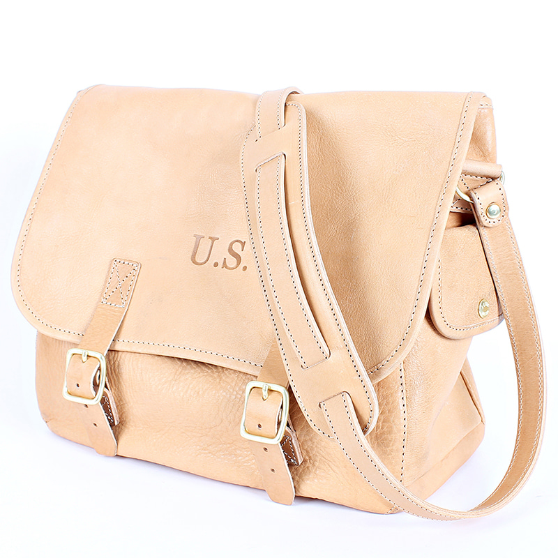 AGINGCCC - 34# US MUSETTE LEATHER BAG