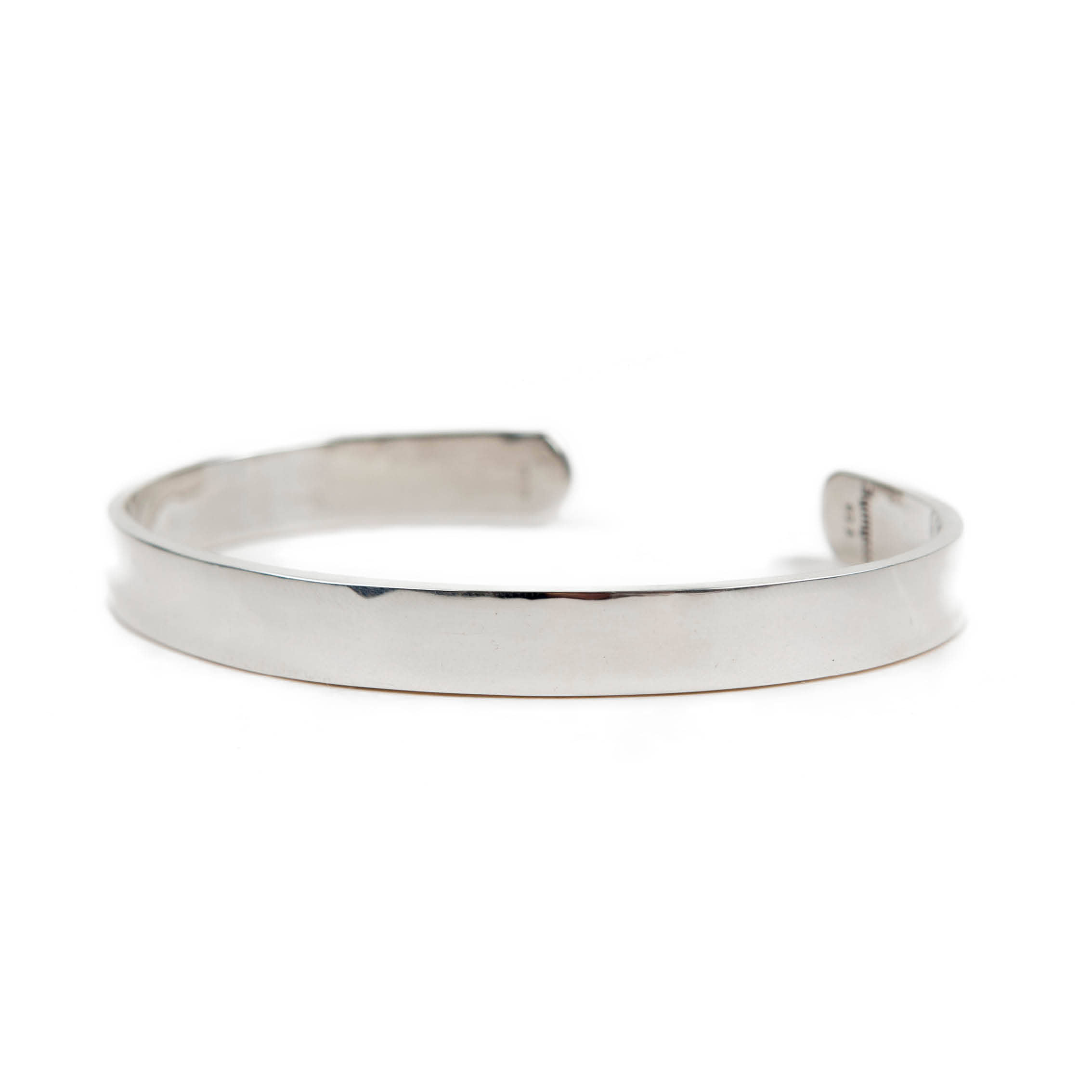 AGINGCCC - 257# BASIC SILVER BANGLE