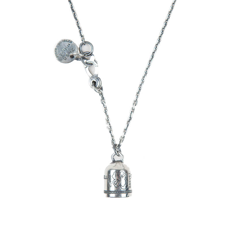AGINGCCC - 274# 92.5 SILVER CAPRIBELL NECKLACE