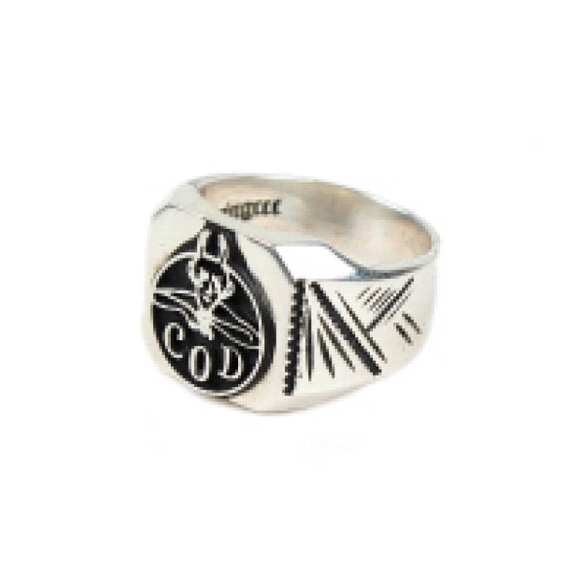 AGINGCCC - 303# 92.5 SILVER DEVIL RING