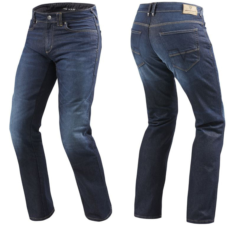 [레빗 데님팬츠] REV'IT - PHILLY2 JEANS /  DARK BLUE