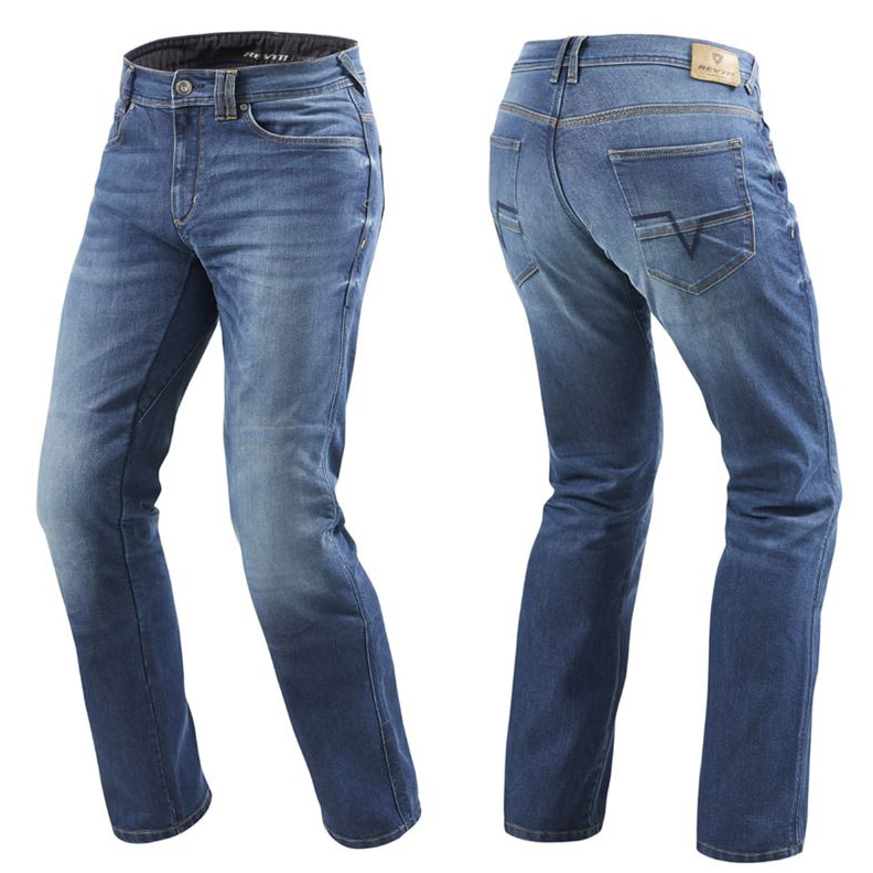 [레빗 데님팬츠] REV'IT - PHILLY2 JEANS / MEDIUM BLUE