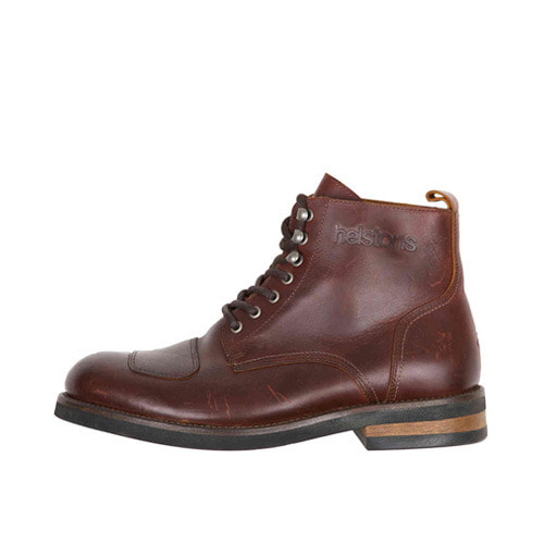 HELSTONS BOOTS / MESSENGER ANTIK MARRON