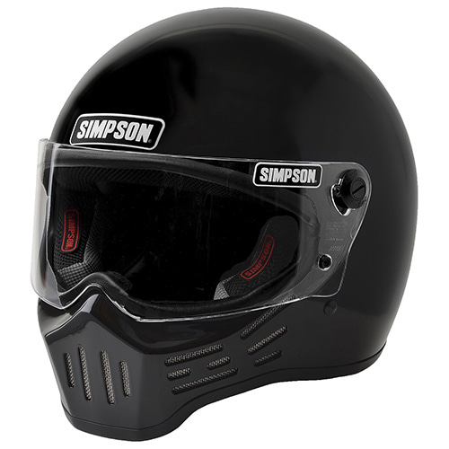 SIMPSON M30 BIKE HELMET - BLACK