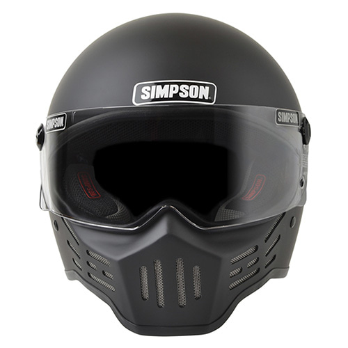 SIMPSON M30 BIKE HELMET - MATT BLACK