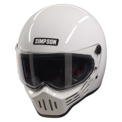 SIMPSON M30 BIKE HELMET - WHITE