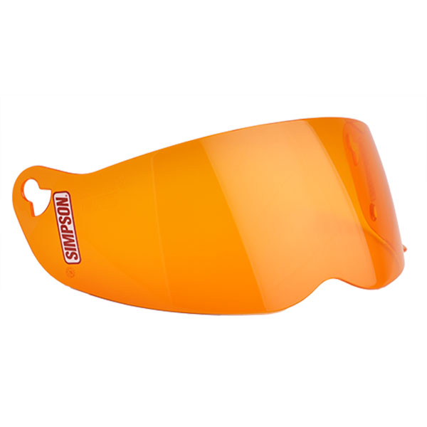 SIMPSON STREET BANDIT SHIELD - ORANGE
