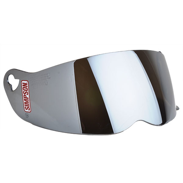 SIMPSON STREET BANDIT SHIELD - SILVER