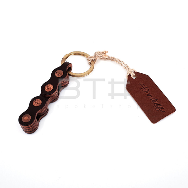 DONSTUFFLEATHER KEYRING / BLACK