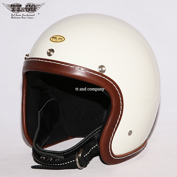 TT&CO Super Magnum Leather Rim Shot Brown - Ivory