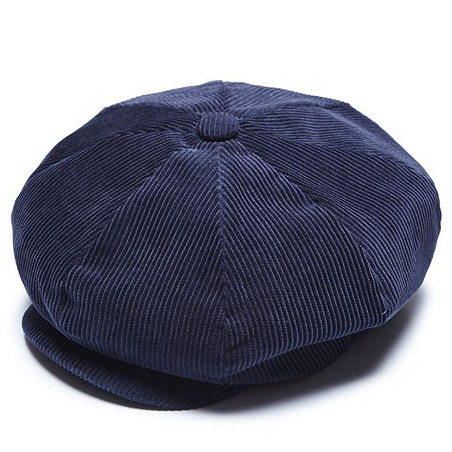 Millionairehats - needle cord big apple hat - navy