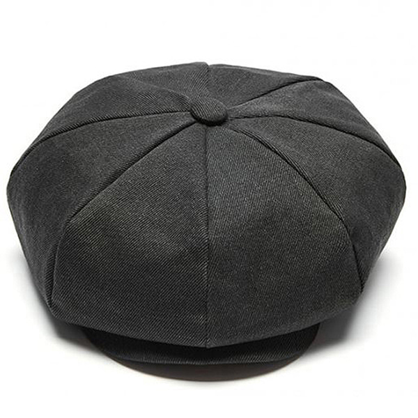 Millionairehats - (vintage cotton) CLASSIC BIG APPLE HAT - VINTAGE GRAY