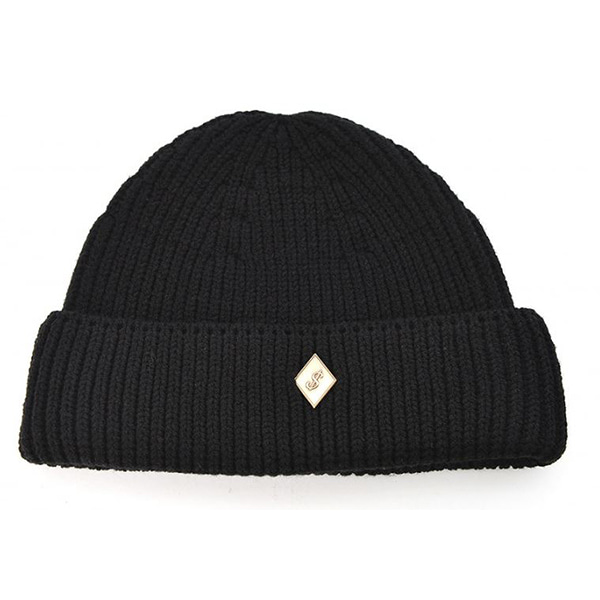 Millionairehats - (cotton) watch cap [BLACK]