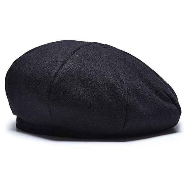 Millionairehats - octangle beret [BLACK]