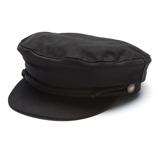 Millionairehats - US DECK COTTON MATROOS CAP [BLACK]