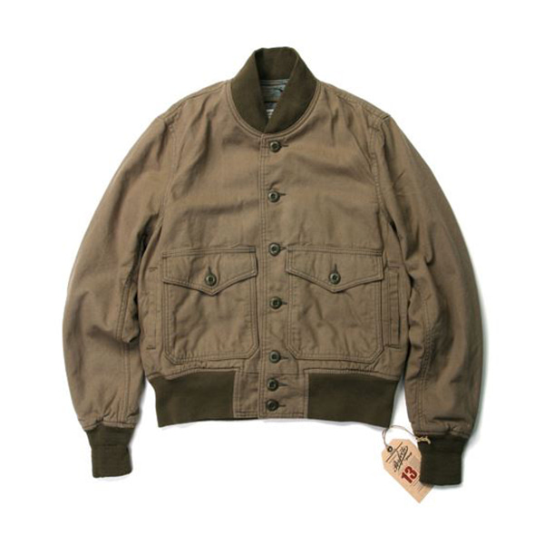 [쇼트뉴욕 자켓] SCHOTT N.Y.C. - Lightweight Cotton A-1 Bomber Jacket